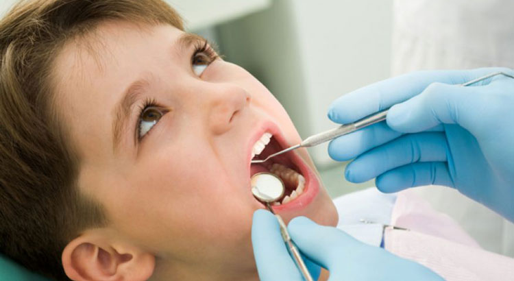 child first dental examination